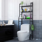 3 Tier Over Toilet Bathroom Space Saver Metal Towel Storage Rack Organizer US