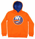 Reebok NHL Hockey Boys Youth New York Islanders Prime Basic Hoodie, Orange $14.88 USD on eBay