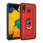 Fr Samsung A30 A50 A70 A6 A7 Military Magnetic Ring Rugged Heavy Duty Case Cover