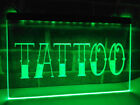 TATTOO Neon LED Display Light Sign QUALITY Parlour Parlor Shop Studio Body Art