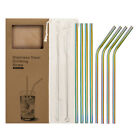 Kyпить Reusable Stainless Steel Metal drinking Straws- Long 8.5 Inch for 20oz  на еВаy.соm