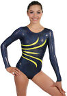NEW Fanfare Gymnastics Competition Leotard by Snowflake Designs