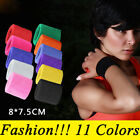 2 x Sports Wrist Sweat Bands Wristbands Fitness Sweatbands Gym Tennis Unisex US image