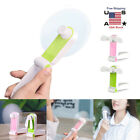 Mini Handheld Fan USB Desk Small Personal Portable Stroller Table Rechargeable