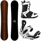 New Camp Seven 2020 Roots and Summit Bindings +Boots Men's Snowboard Package