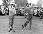 BOB HOPE BING CROSBY Golf Photo Picture Vintage B&W Photograph Print 8x10 11x4