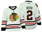 Reebok NHL Chicago Blackhawks Youth Girls Duncan Keith #2 Replica Jersey, White $34.95 USD on eBay