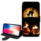 Halloween Theme PU Leather Wallet Case Cover For Top Mobiles - 18