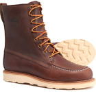 """Woolrich Speculator men's 8"""" Insulated Work Hunting Field Boots USA $350 Horween"""