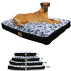 Jumbo Pet Dog Bed Dog XXL Extra Large Waterproof Soft House Crate Bed Zip Cover