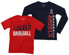 MLB Youth Los Angeles Angels Fan Two Piece Performance T-Shirt Combo Set on Ebay