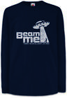 UFO Beam Me Kinder Langarm T-Shirt Pixel Area Beam Saucers Vril Gamer Alien