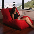LEVMOON Beanbag Chair Of The Chat Bean bag sofas set living room furniture witho