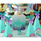 20pcs Mermaid Sweet Candy Boxes Little Mermaid Party Supplies Theme DIY Gift