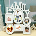 Family Wall Hanging Photo Frame Picture Display Wedding Decor Christmas Gifts US
