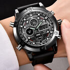 Fashion Watches Wrist Full Steel Quartz Hour Analog LED Watch Sports Outdoor New image