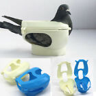 Plastic Racing Pigeon Holder Easy Bird Fixed Frame Rack Medicine Feeder SK