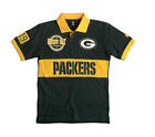 FOCO NFL Men's Green Bay Packers Wordmark Rugby Short Sleeve Polo Shirt $29.99 USD on eBay