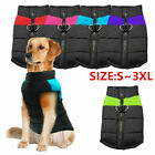 Waterproof Small-Large Pet Dog Clothes Winter Warm Padded Coat Pet Vest Jacket