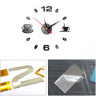 3D Acrylic Wall Clock Mirror Sticker Watch Sticker Home Decor Unique Gift DIY