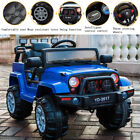 12V Jeep Kids Powered Ride on Car Children Electric Battery Remote Control USA