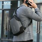 Mark Ryden New Anti-thief Crossbody Bag Waterproof Men's Sling Chest Bag Fit 9.7