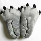 Plush Slippers Animal Dinosaur Monster Feet Claw Paw Kid Adult Warm Shoes Indoor