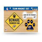 NEW! NBA PET DOG MAGNET SHEET SET BEWARE FAN LICENSED CHOOSE TEAM on eBay