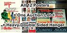 JAMES BOND 007 Secret Agent 1962 - 1981 Connery & Moore = FIRST 12 MOVIE POSTERS $990.07 CAD on eBay