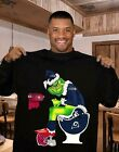 Grinch NFL Fan Football Seattle Seahawks Champion NFC West T-Shirt M-3XL Gift $29.88 USD on eBay