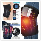 Knee Joint Heat Therapy Massager Pain Relief Physiotherapy Vibration Machine