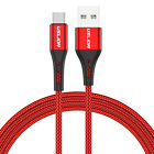 3A Fast Charging Micro USB Type C Cell Phone Charger Data Cable For Samsung S10+