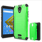 Phone Case For AT&T Radiant Core / Cricket Icon Case Shock Absorbing Cover