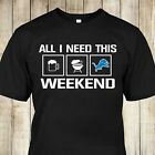 Detroit Lions Football T Shirt Weekend Funny Fan Shirt Unisex Men Champion Gift $28.63 USD on eBay