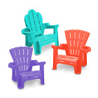 NEW AMERICAN PLASTIC TOYS ADIRONDACK CHAIR OUTDOOR FOR KIDS 13110
