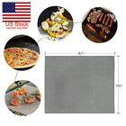 5 Pack BBQ Non Stick Grill Mat Mesh Teflon Cooking Liner Fish Grilling Sheet New