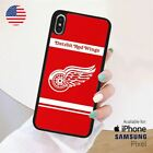 DETROIT RED WINGS iPhone X Samsung S10 Pixel Case $22.99 USD on eBay