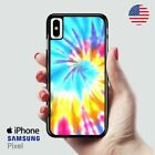 Artsy Abstract Hipster Tie Dye iPhone X Samsung S10 Pixel Case