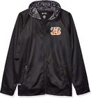 Zubaz NFL Men's Cincinnati Bengals Full Zip Digital Camo Hood Hoodie, Black $49.99 USD on eBay