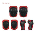 6Pcs Kids Bike Knee Pads and Elbow Pads with Wrist Guards Protective Gear image