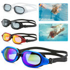 Men Women Swimming Googles Large Frame Adjustable Silicone Glasses IN STOCK