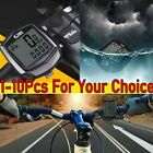 Waterproof Bicycle LCD Computer Speedometer Wired Odometer Stopwatch Hot New AK