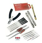 37 Piece Hobby Craft Tool Kit Airfix Scale Model Makers Crafting Tools