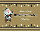 NEW ORLEANS SAINTS Style CHRISTMAS Photo Picture SANTA CLAUS PRINT 8x10 or 11x14 $6.95 USD on eBay