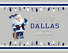 DALLAS COWBOYS Style CHRISTMAS Photo Picture SANTA CLAUS FAN PRINT 8x10 or 11x14 $12.95 USD on eBay
