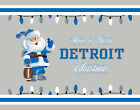 DETROIT LIONS Style CHRISTMAS Photo Picture SANTA CLAUS FAN PRINT 8x10 or 11x14 $12.95 USD on eBay