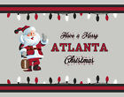 ATLANTA FALCONS Style CHRISTMAS Photo Picture SANTA CLAUS FAN PRINT 8x10 11x14 $6.95 USD on eBay