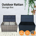 【20%OFF $145.6】320L Garden Sheds Outdoor Tools Storage Box Rattan Ottoman Bench
