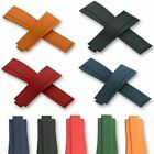 20mm OysterFlex Watch Silicone Rubber For Rolex Strap Soft Band Clasp 5...