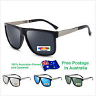 Mens Polarised Fashion Fishing Golf Square Protection Vintage Sunglasses O005